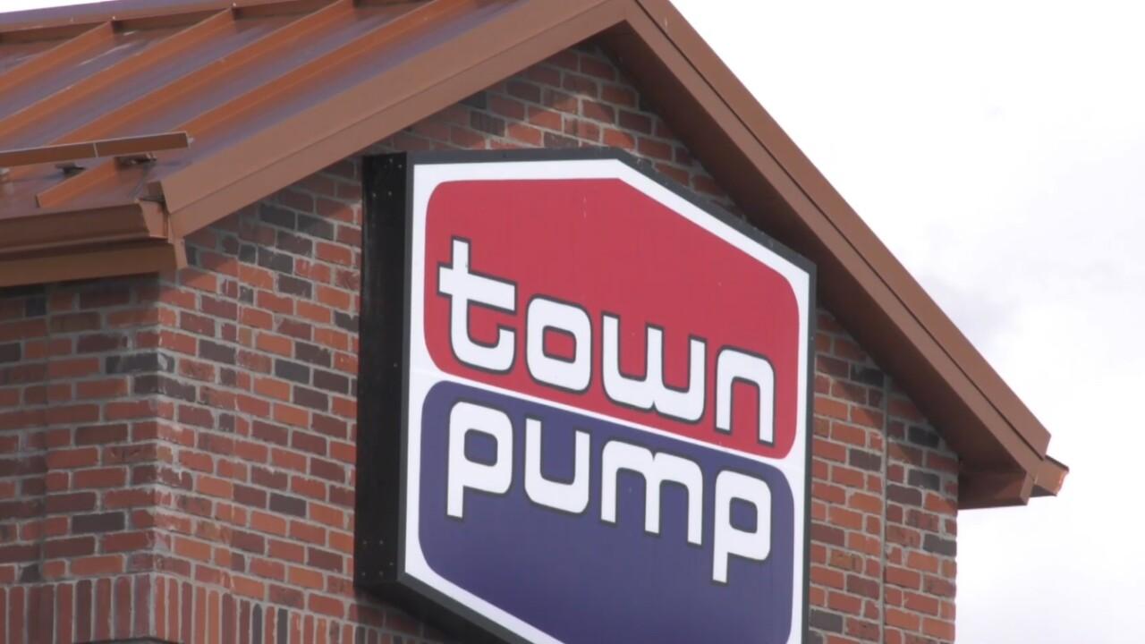 Town Pump Sign