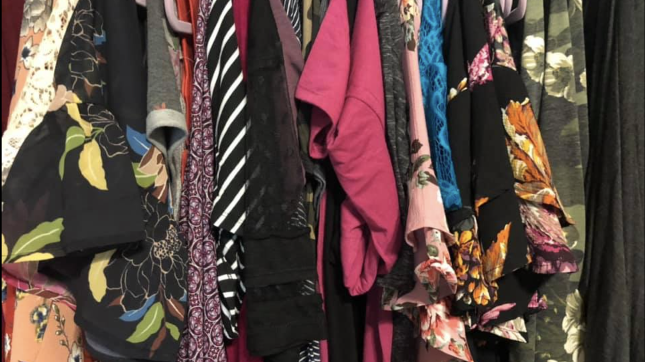 Stef and Becs Boutique sells women's clothing, giftables and other items