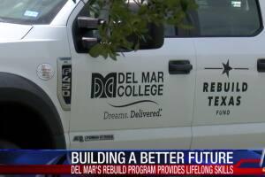 Del Mar College rebuild program provides lifelong skills