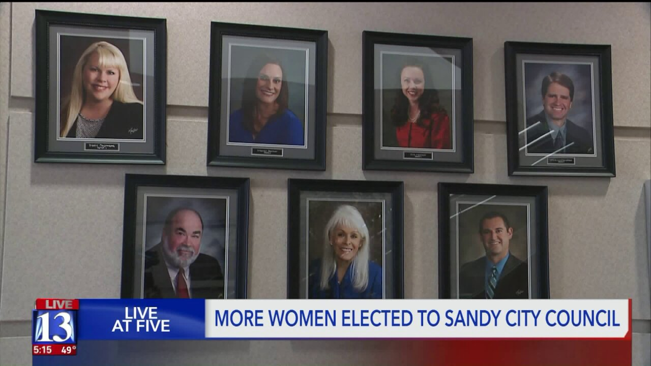 Six women making Utah history in Sandy
