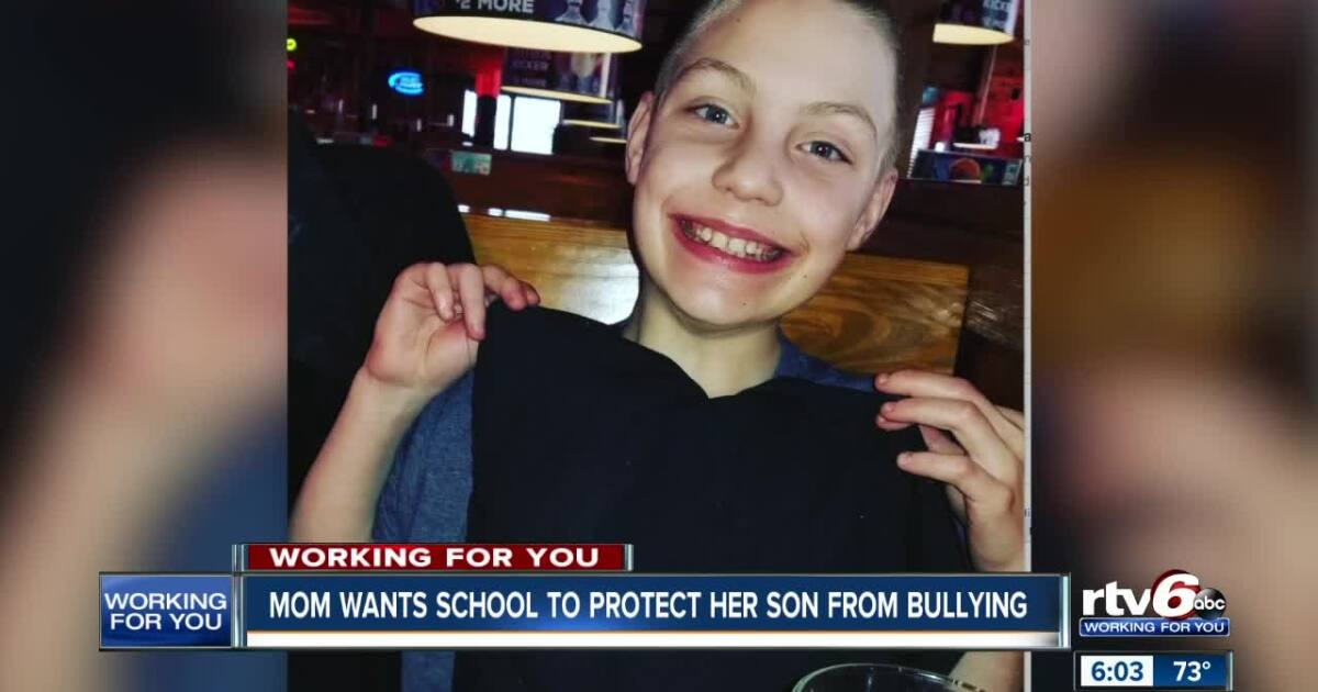 Indianapolis mom wants school to protect her son from bully