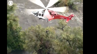 Caught on cam: Dramatic LA water rescue
