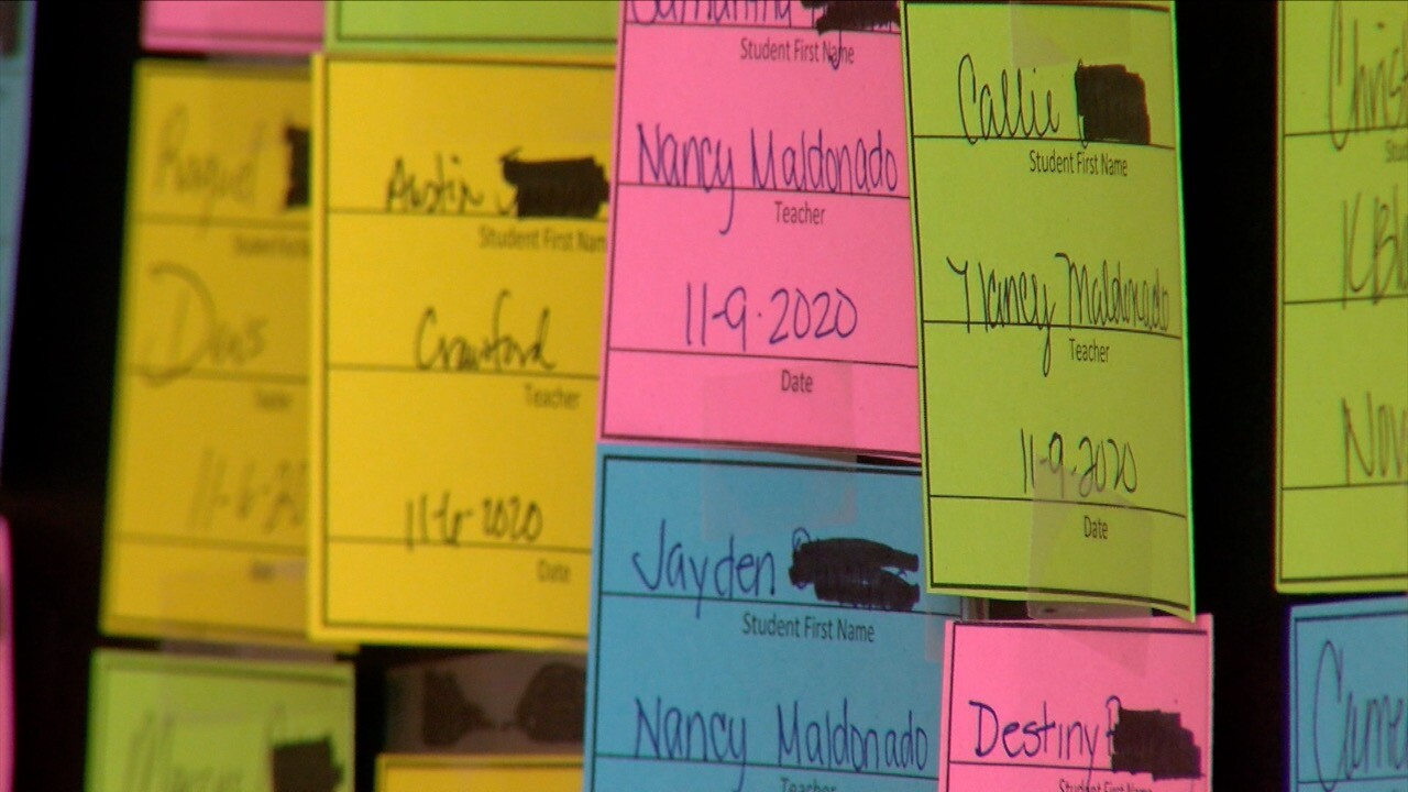 Hamlin Middle School spreads positivity with phone calls to parents