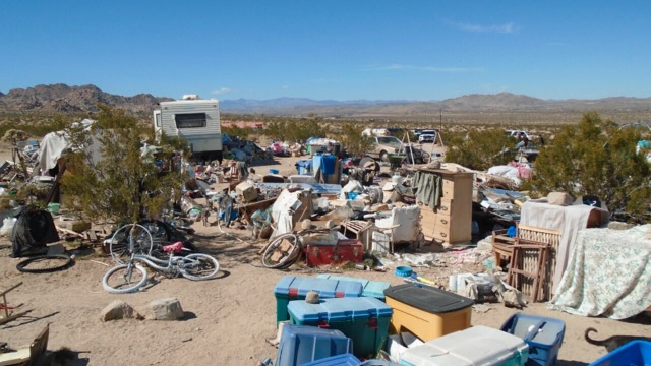 Joshua Tree family lived in 'unsuitable' home
