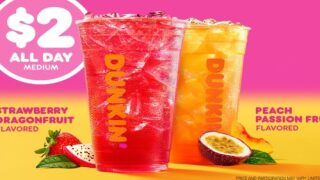 Dunkin's New Green Tea Refreshers Have Arrived Just In Time For Summer