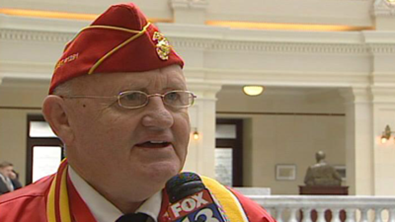 Veterans honored by House