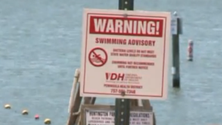 Hilton Park Beach swimming advisory lifted