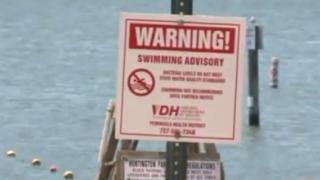 Hilton Park Beach swimming advisorylifted