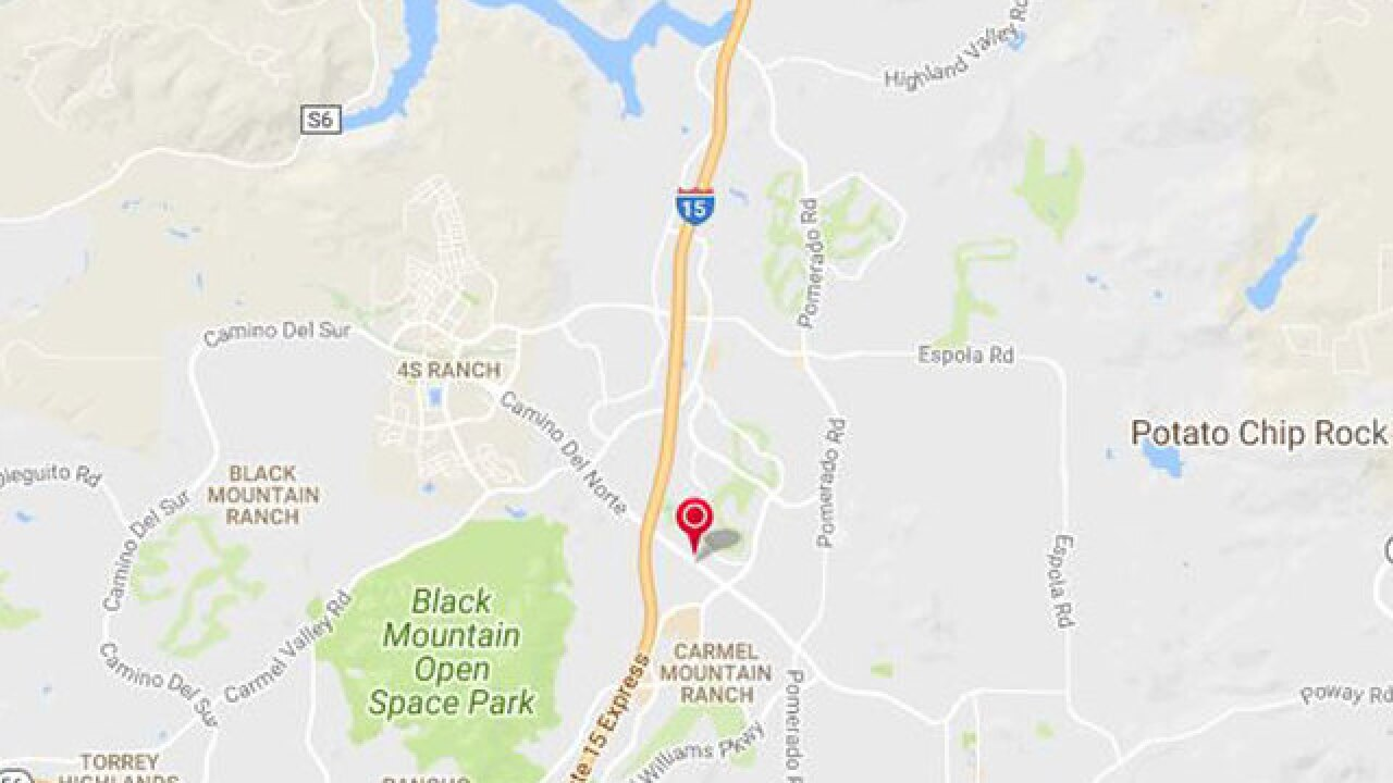 SDG&E reports power outage in Rancho Penasquitos, Rancho Bernardo, San Pasqual areas