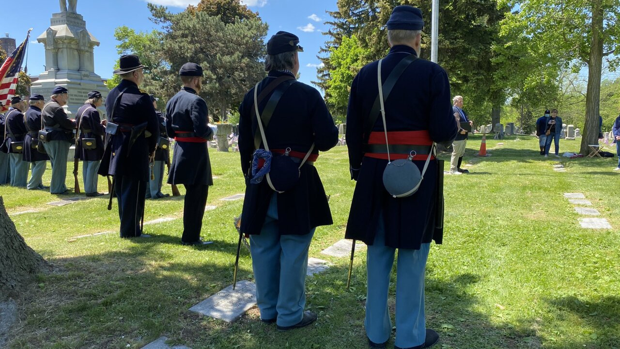 Forest Lawn Memorial Day ceremony