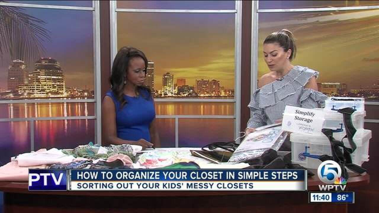Organize your closet in simple steps