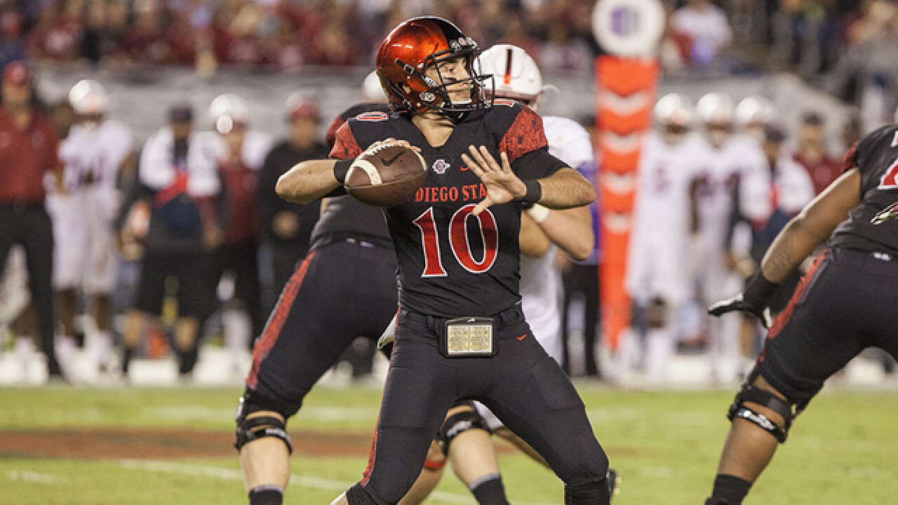 Chapman on the brink of immortality for SDSU football