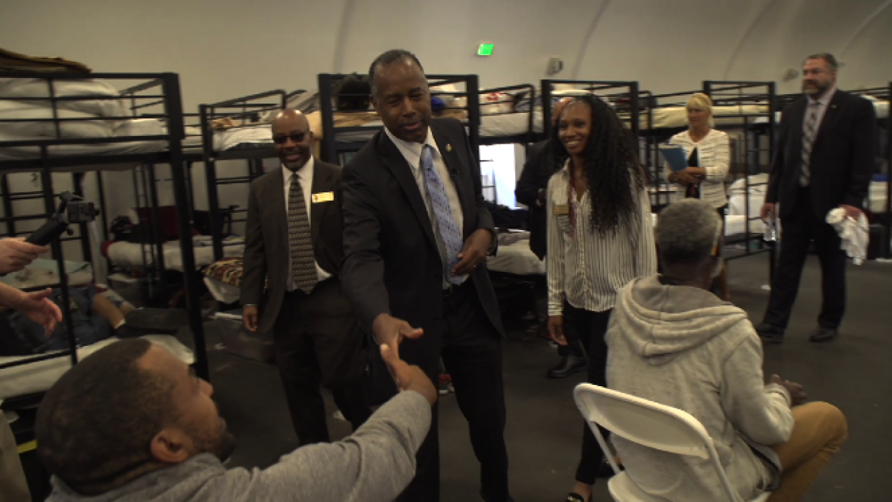 U S Hud Secretary Carson Meets With San Diego Mayor To Discuss Homelessness