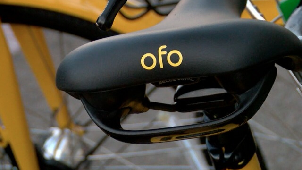 'ofo' joins San Diego's growing field of bike-sharing options