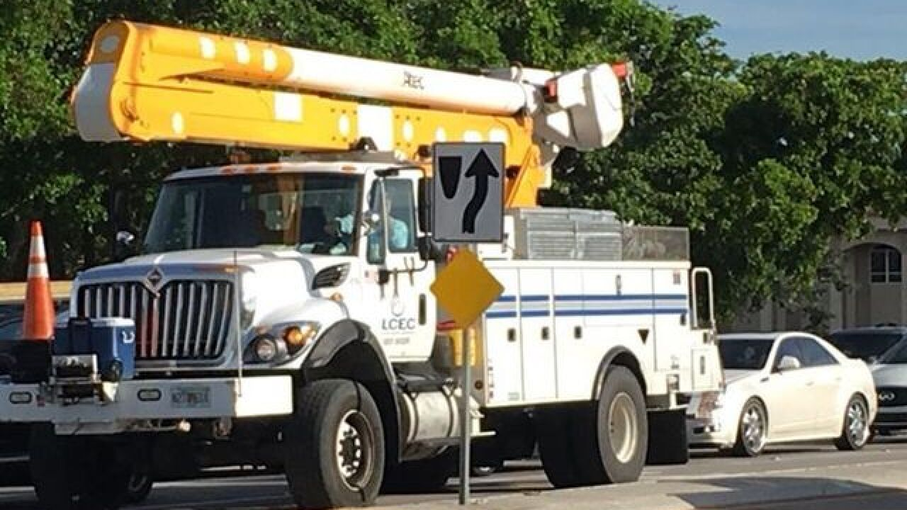 Power restored in Lehigh following an outage