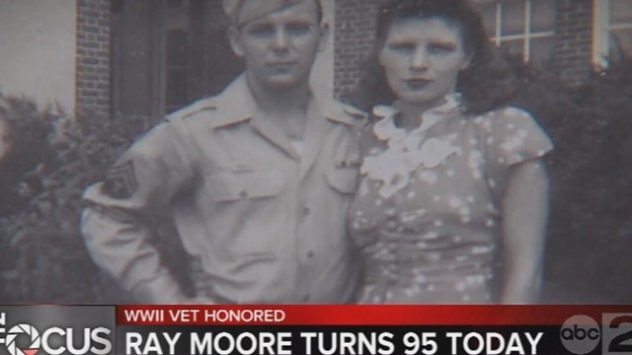 Baltimore Co. WWII vet honored on 95th birthday