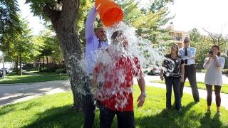 Jack Harry accepts the Mavericks' #IceBucketChallenge