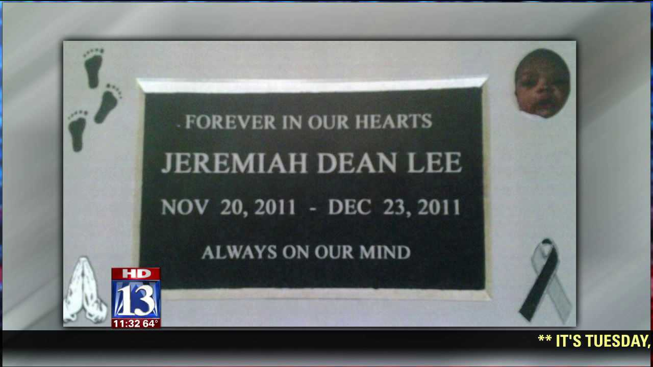 Donations help mother buy headstone for child