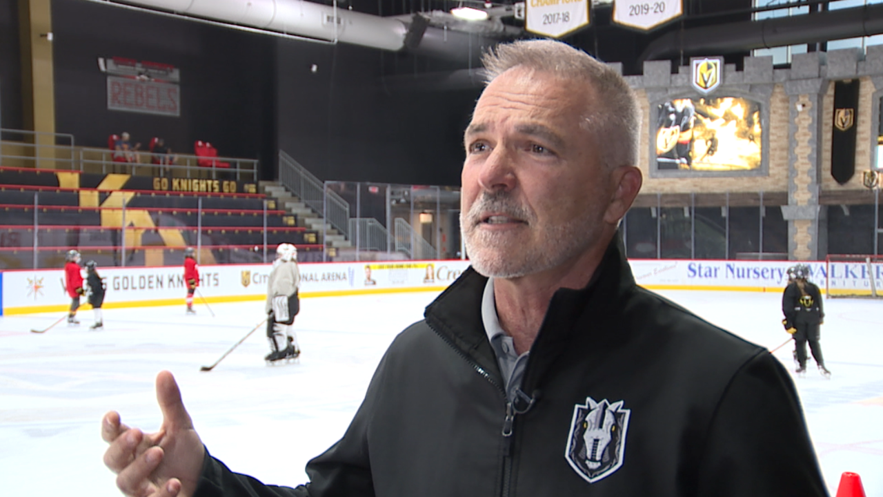 Vegas Golden Knights helping to grow the game of hockey in Southern Nevada