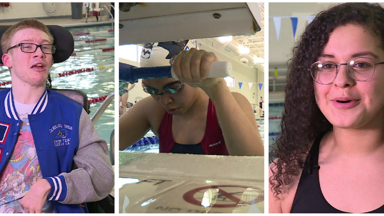 Teaching perseverance, perspective and paying it forward throughswimming