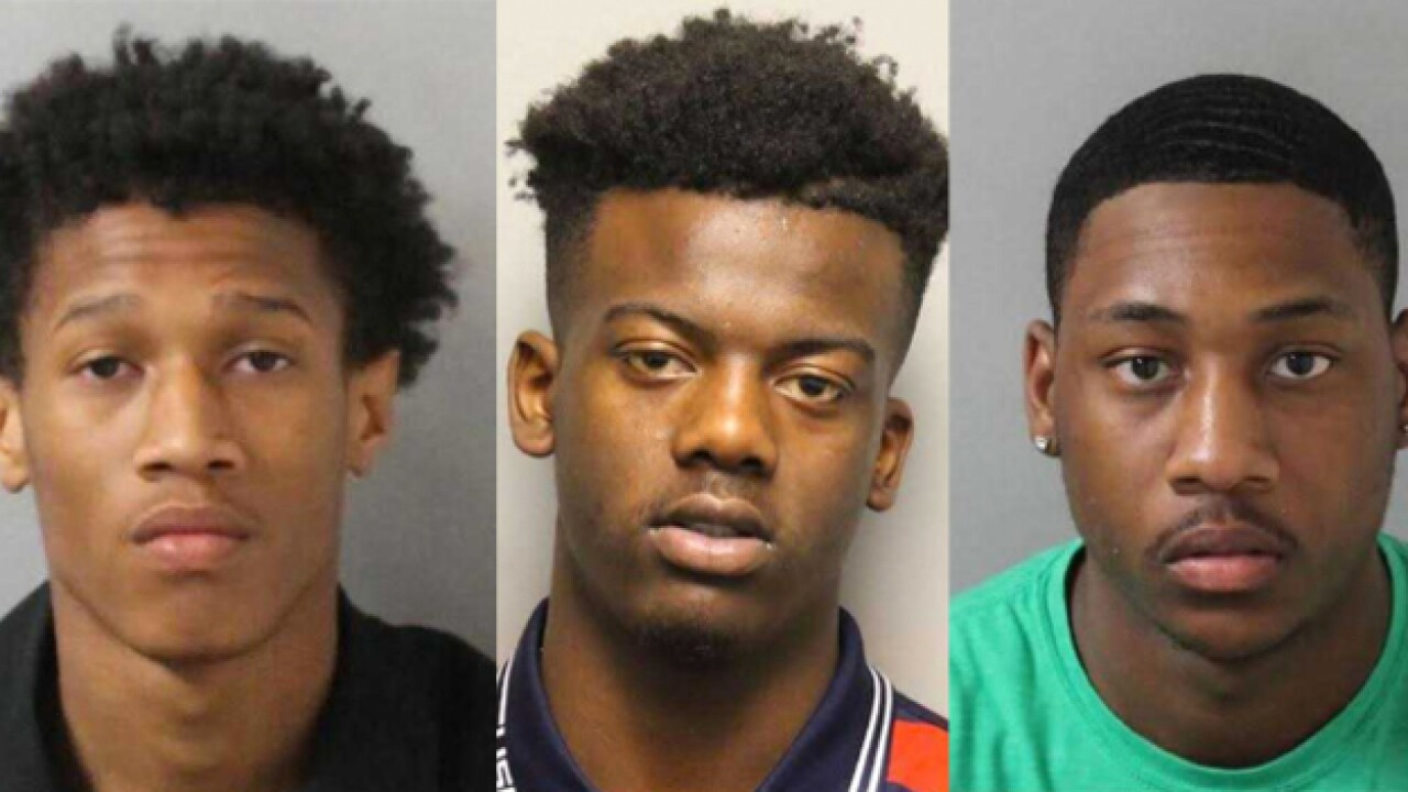 Police Search For 4 Suspects In Vehicle Thefts.
