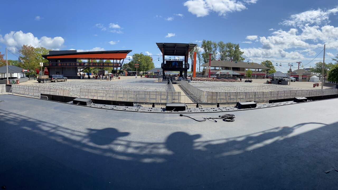 view from Generac Power Stage