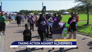 Chesapeake woman takes action in the fight against Alzheimer's!