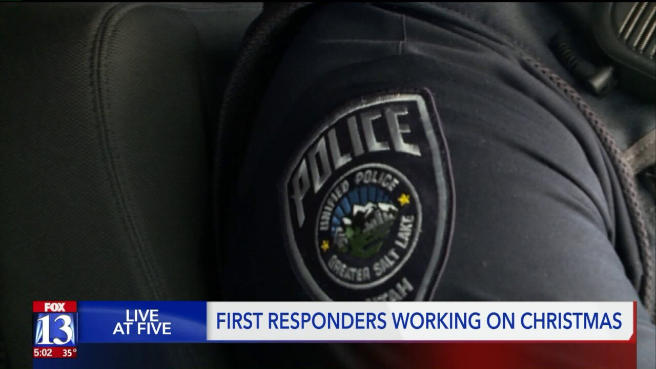 'It's hard to be here on Christmas': Dispatchers, police officers spend holiday atwork
