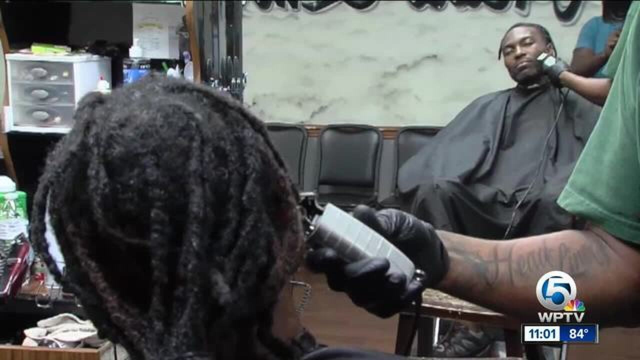 Ahead of violence curbing town hall in Riviera Beach, local barbershop has some ideas