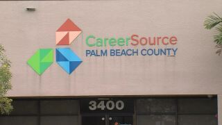 CareerSource Palm Beach County sign