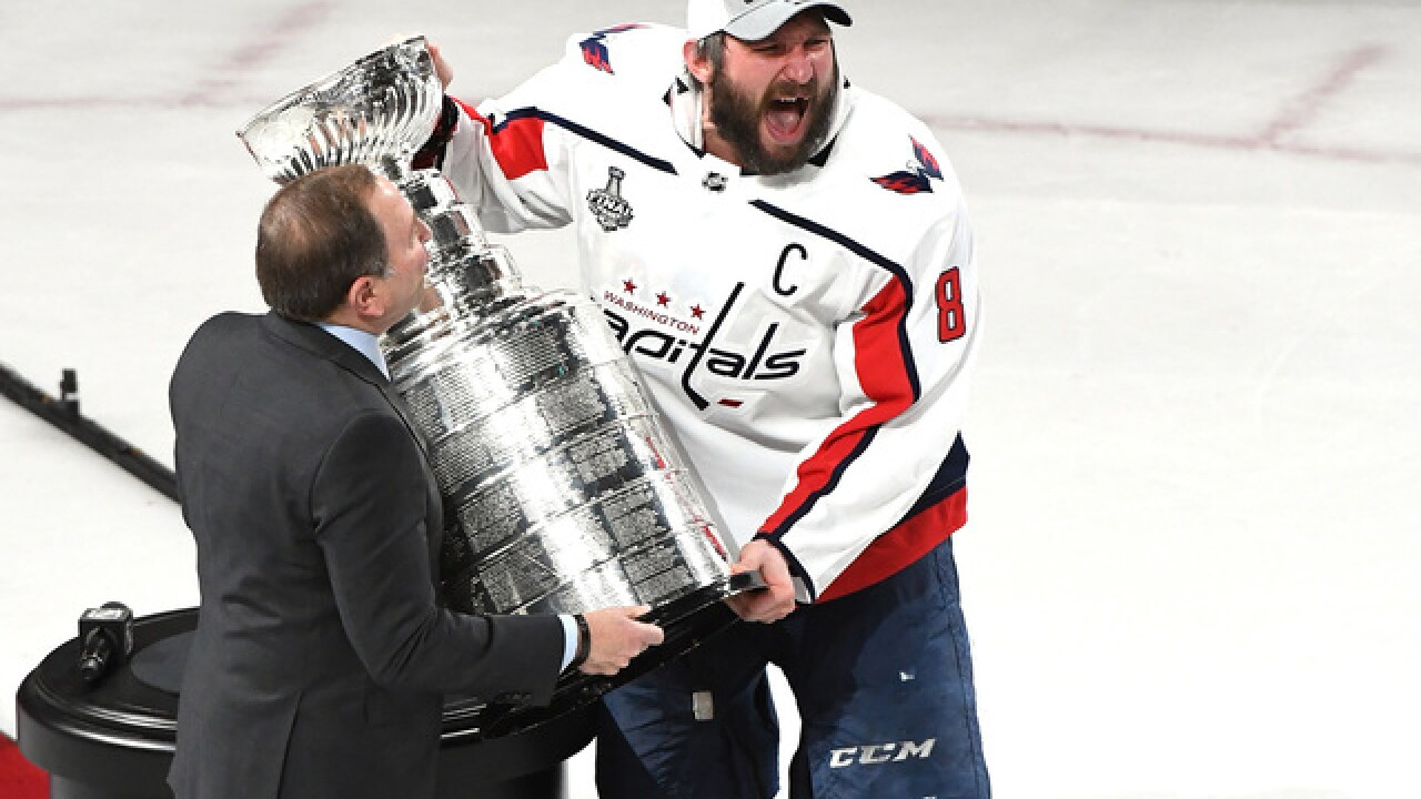 Capitals win first Stanley Cup, Alex Ovechkin captures Conn Smythe