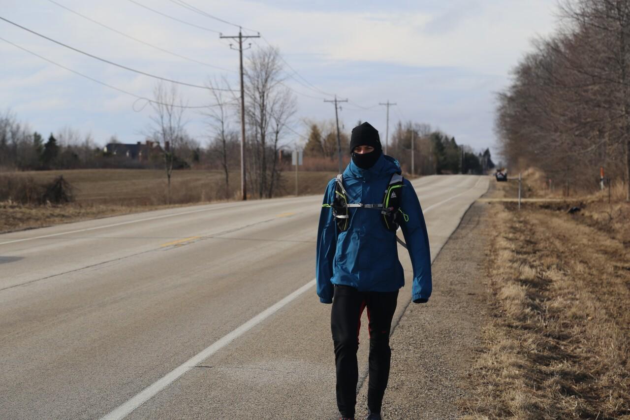 Lee Thornquist Walking