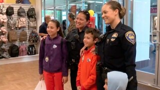 Kids get shoes, socks thanks to Chula Vista PD