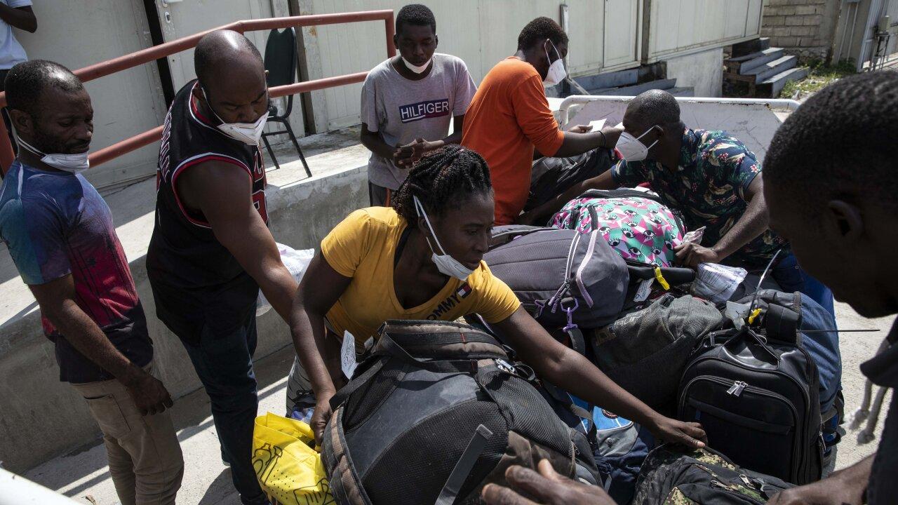 Haiti US Deported