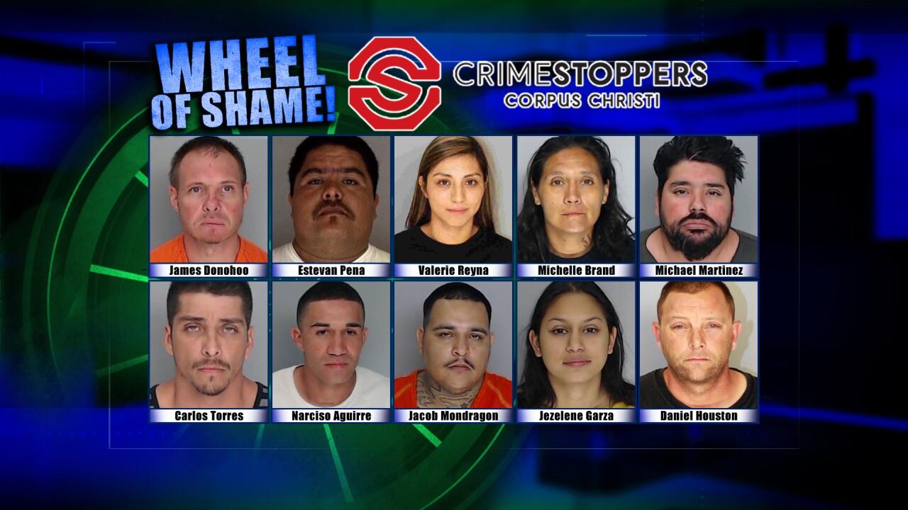 Wheel of Shame Fugitives: September 11, 2019