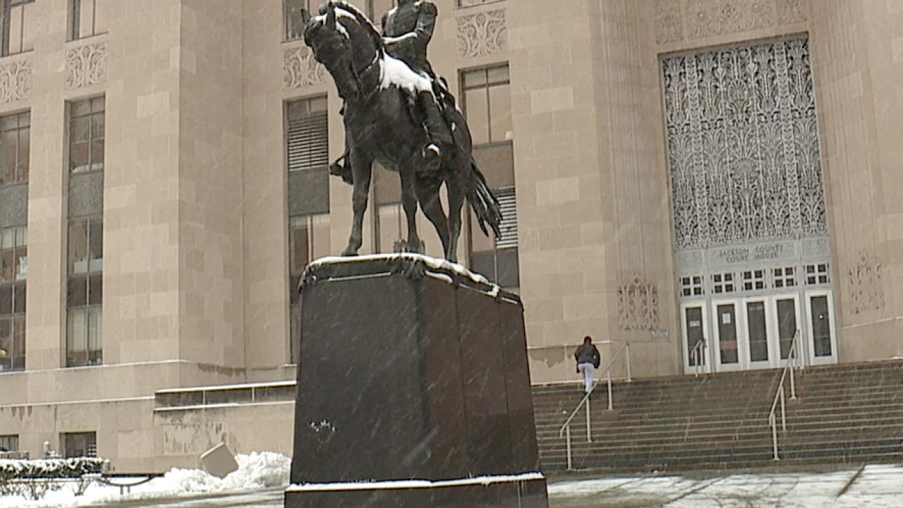 Andrew Jackson statue Jackson County