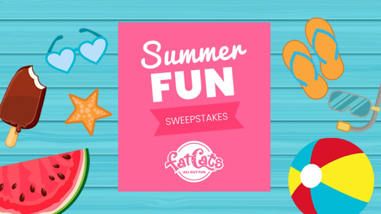 RULES: FatCats Summer Fun Sweepstakes