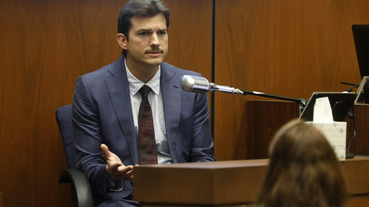 Ashton Kutcher testifies in the 'Hollywood Ripper' murder trial