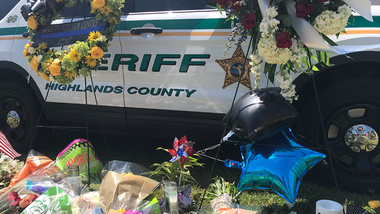 Vigil to be held for fallen Highlands deputy