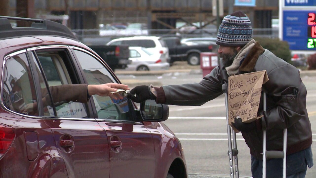 Panhandlers in Chesapeake move from traffic lanes to private property