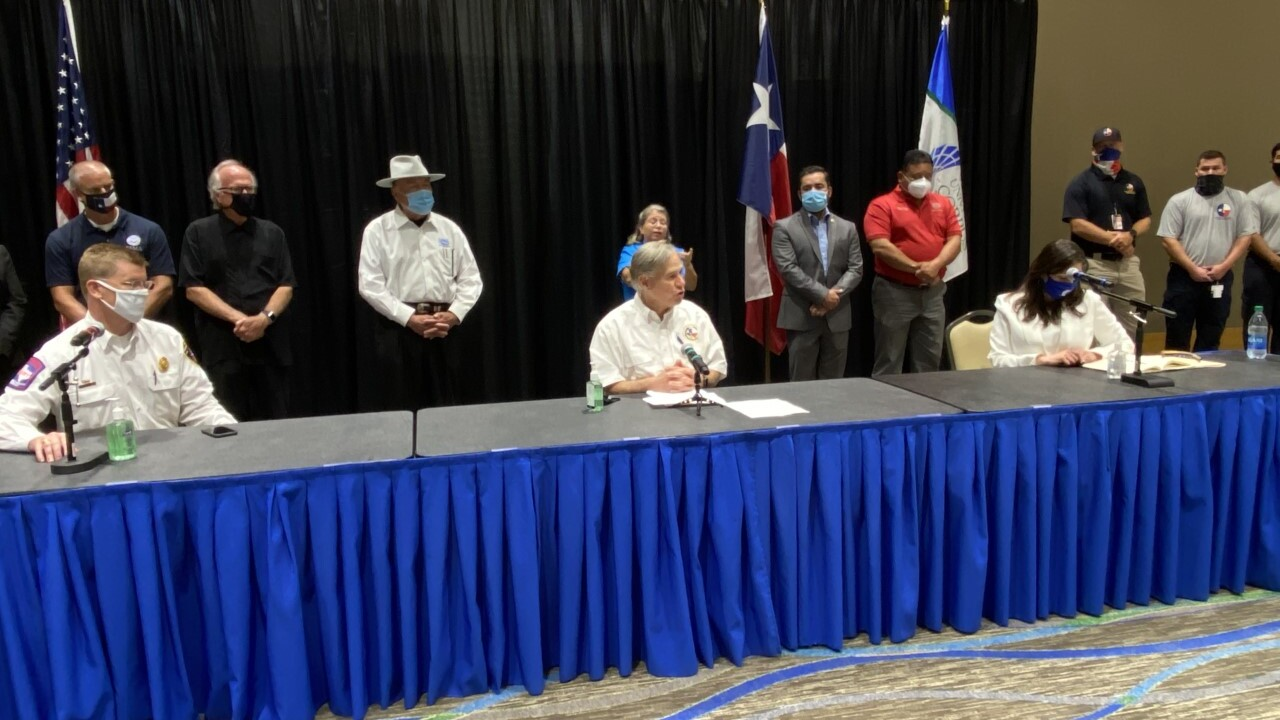 WATCH LIVE: Governor Abbott is in Corpus Christi
