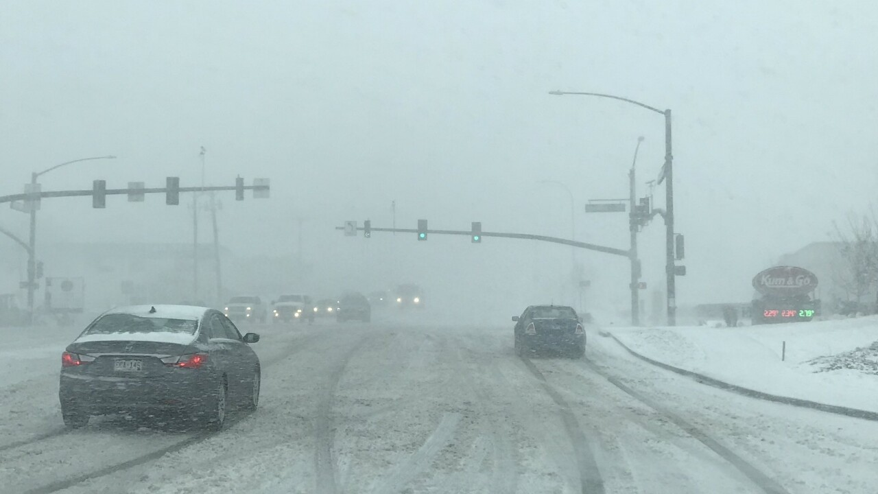 Bomb Cyclone Filmore St in Colorado Springs
