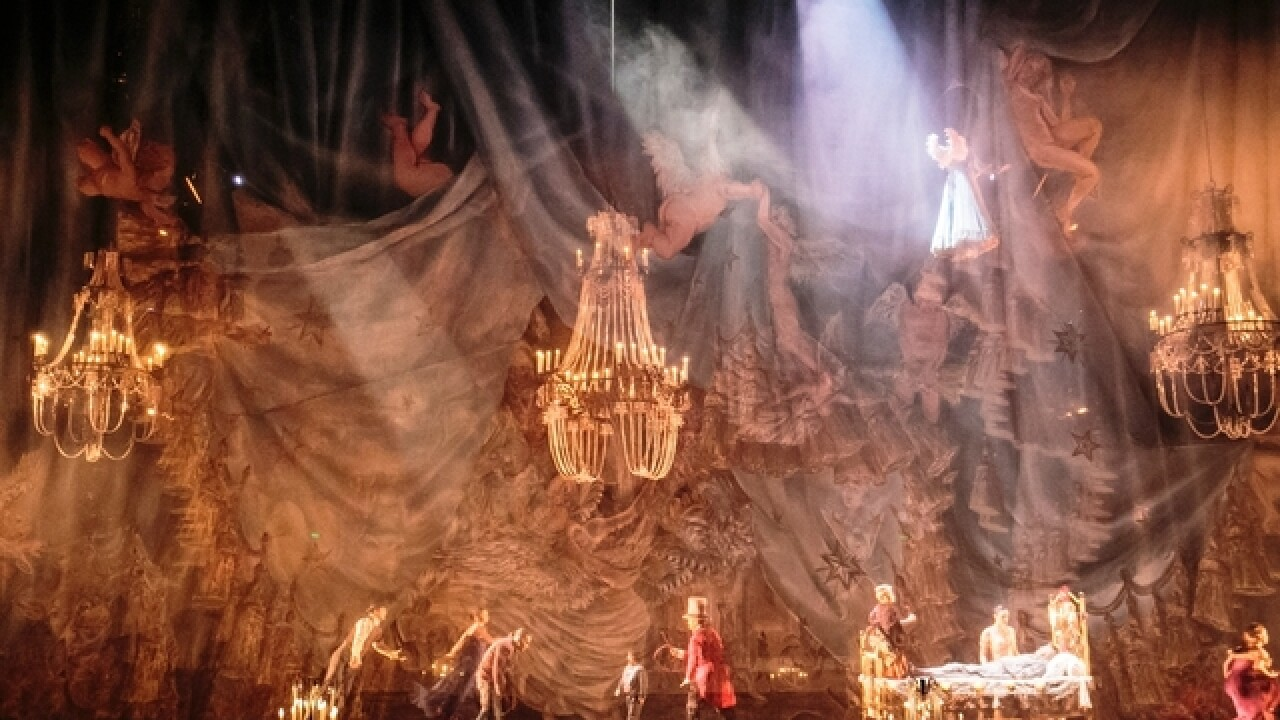 Cirque du Soleil returning to Cincinnati in 2018