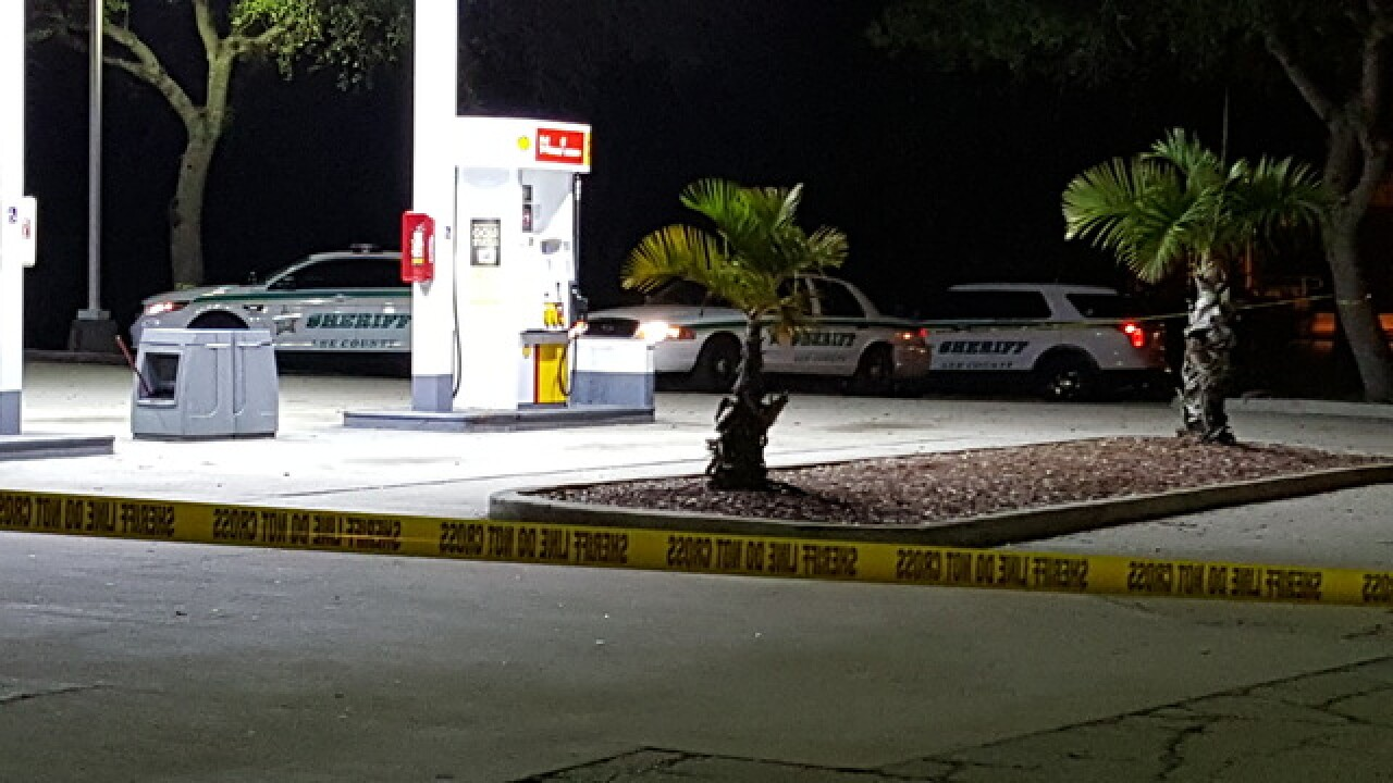 LCSO searching for armed robbery supect