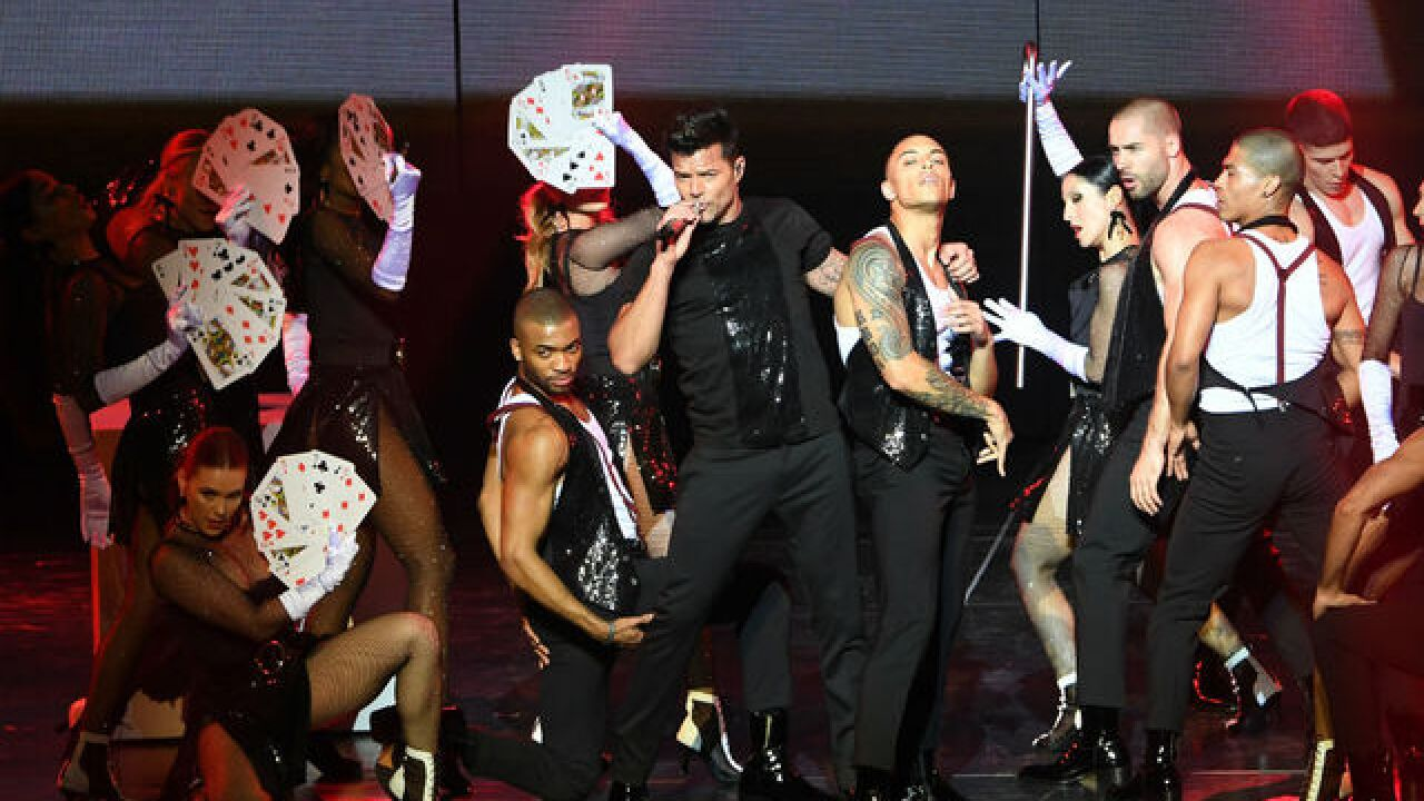 Ricky Martin is going 'ALL IN' on Vegas Strip