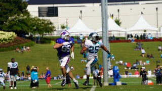 BILLS PANTHERS TRAINING CAMP SOUTH CAROLINA.JPG