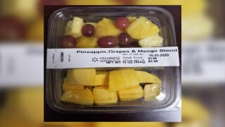 Containers of Freshness Guaranteed-brand fruit sold in 9 states at Walmart recalled for listeria risk