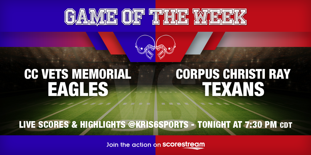 CC Vets Memorial_vs_Corpus Christi Ray_twitter_neutralHeadToHead.png