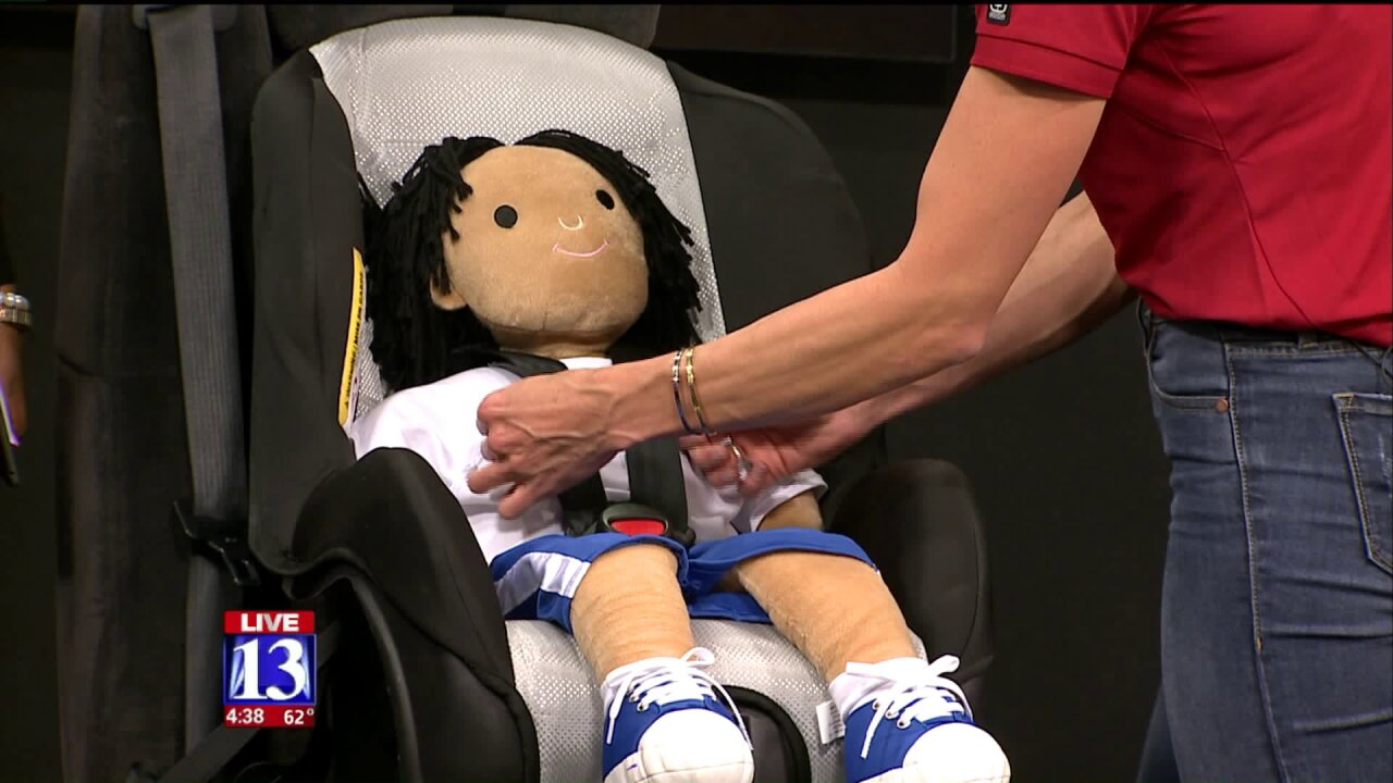 Tips on how to safely secure your child in a car seat