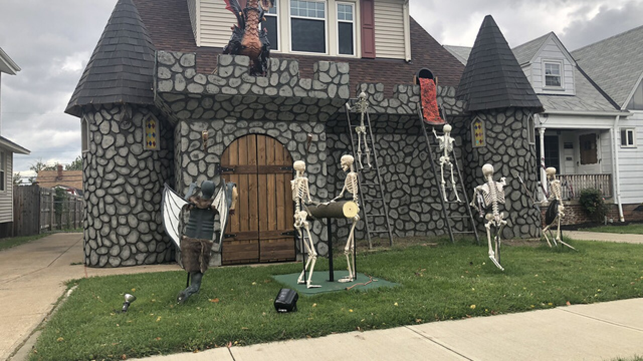 Check Out These Local Houses With Amazing Halloween Decorations
